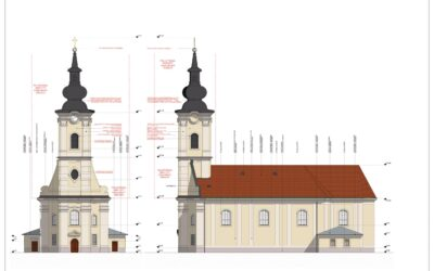 Szob – Szent László-templom felmérése